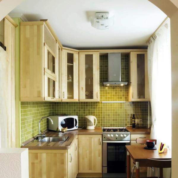 Ремонт небольшой кухни фото