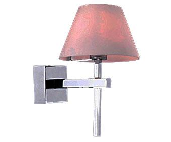 Бра ПЛАМЯБра<br><br><br>Бренд: Ozcan<br>Цвет: Розовый, Серый<br>Размеры: 22 cm<br>Материал: Металл, Стекло<br>Мощность и вид ламп: G9 1*40w