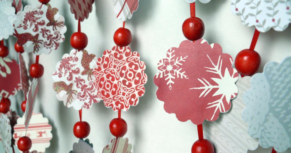 Новогодние украшения для дома своими руками из