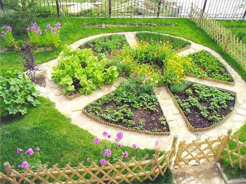Как обустроить сад и огород красиво