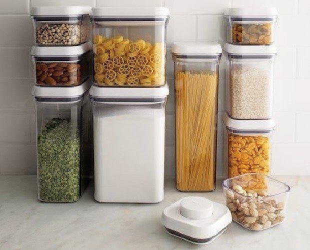 Емкости для хранения сыпучих продуктов своими руками