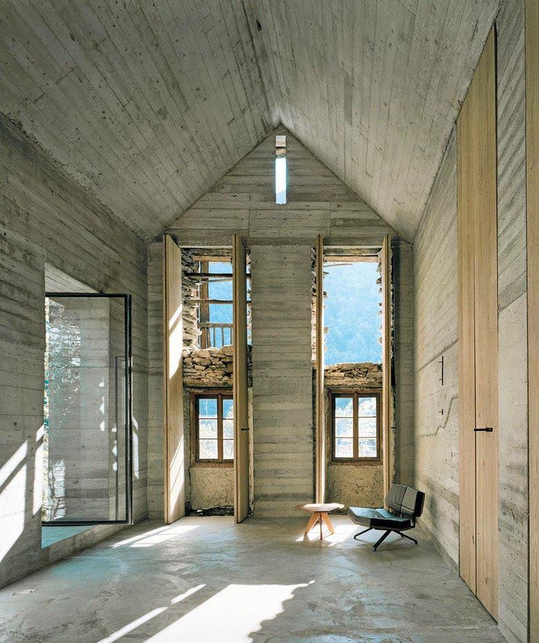 Архитектура в цветах: черный, серый, светло-серый, темно-зеленый, бежевый. Архитектура в стилях: минимализм, лофт, этника, экологический стиль, неоготика.