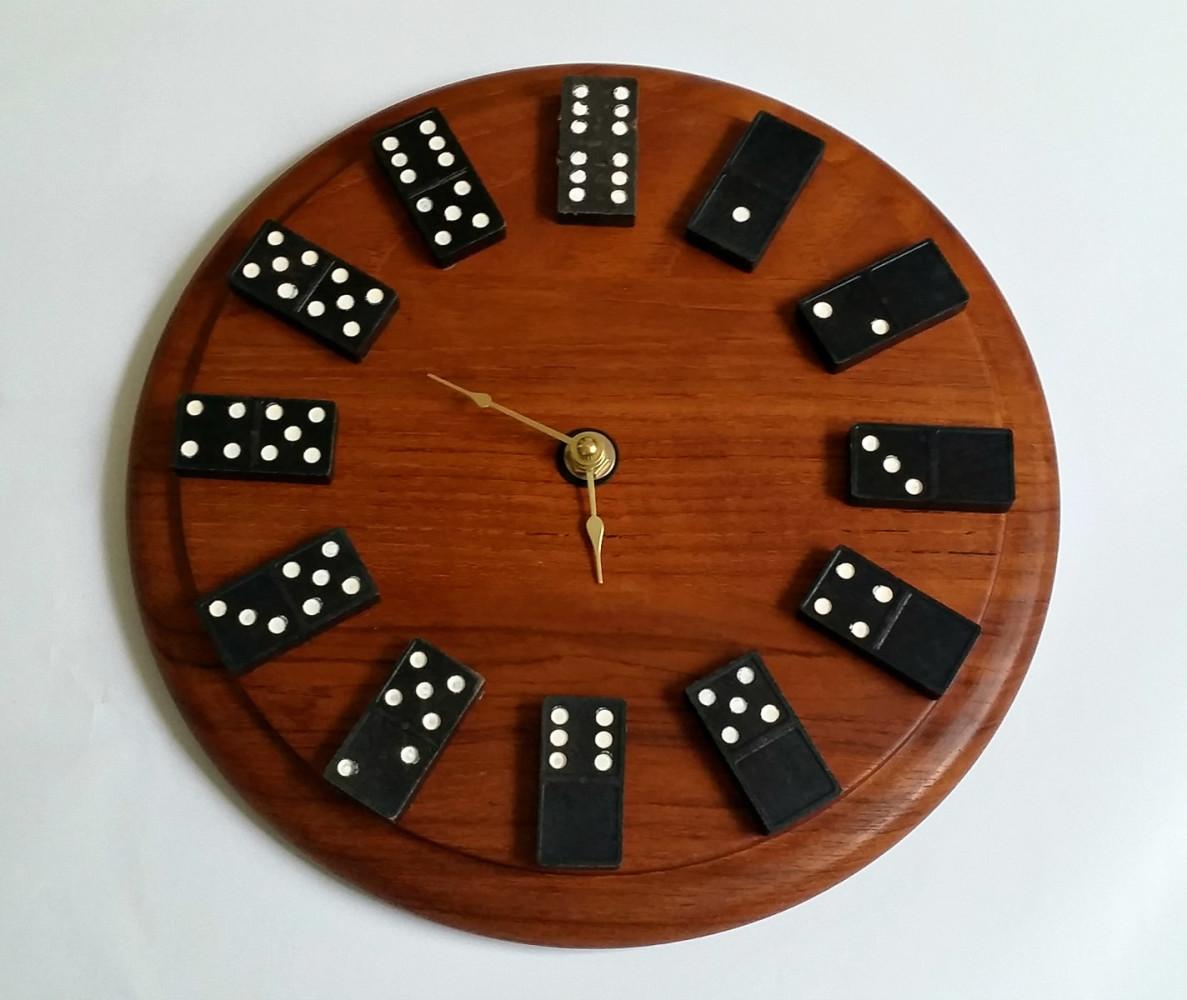 Необычные настенные часы своими руками мастер класс