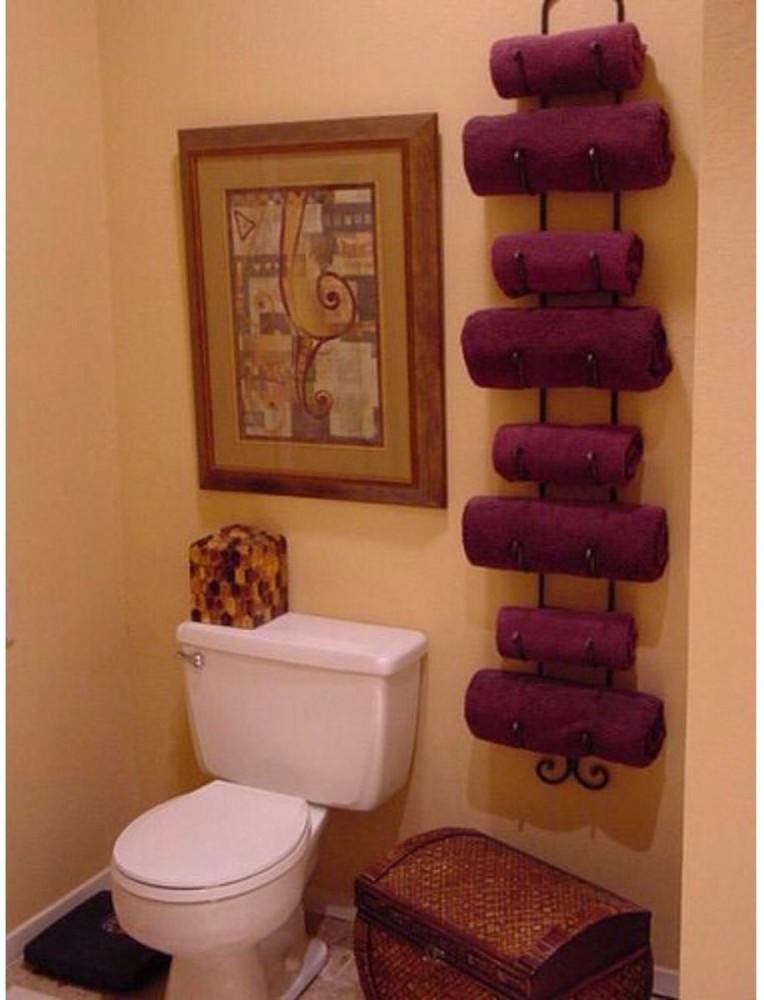 Полочка в ванную для полотенец своими руками