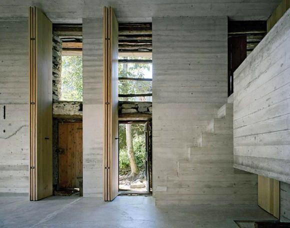 Архитектура в цветах: серый, светло-серый, темно-зеленый, бежевый. Архитектура в стилях: минимализм, лофт, этника, неоготика.
