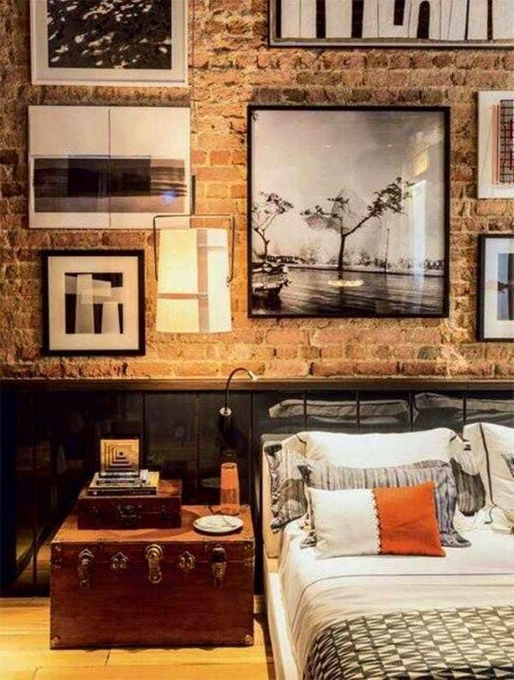 Спальня в стиле лофт фото своими руками