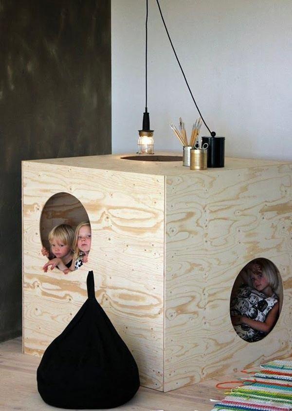 Мебель в детскую своими руками из фанеры 20