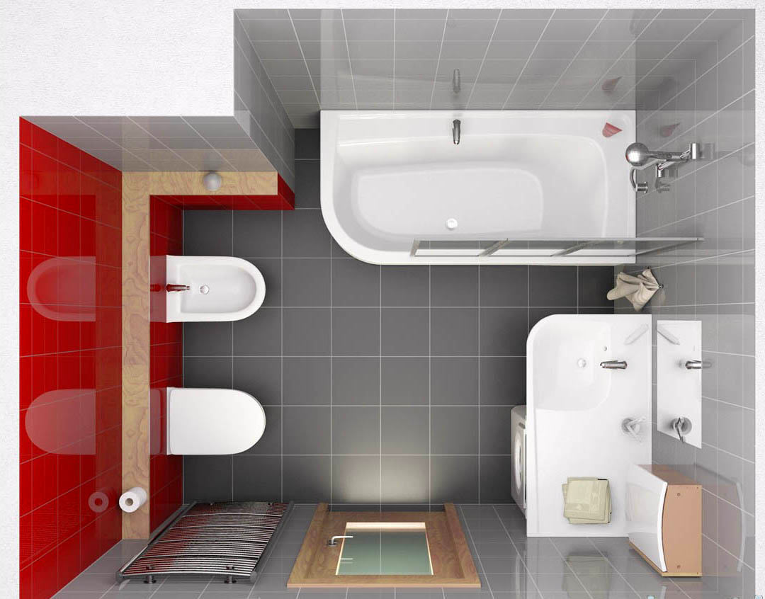 Дизайн совмещенной ванной комнаты 3 кв.м фото
