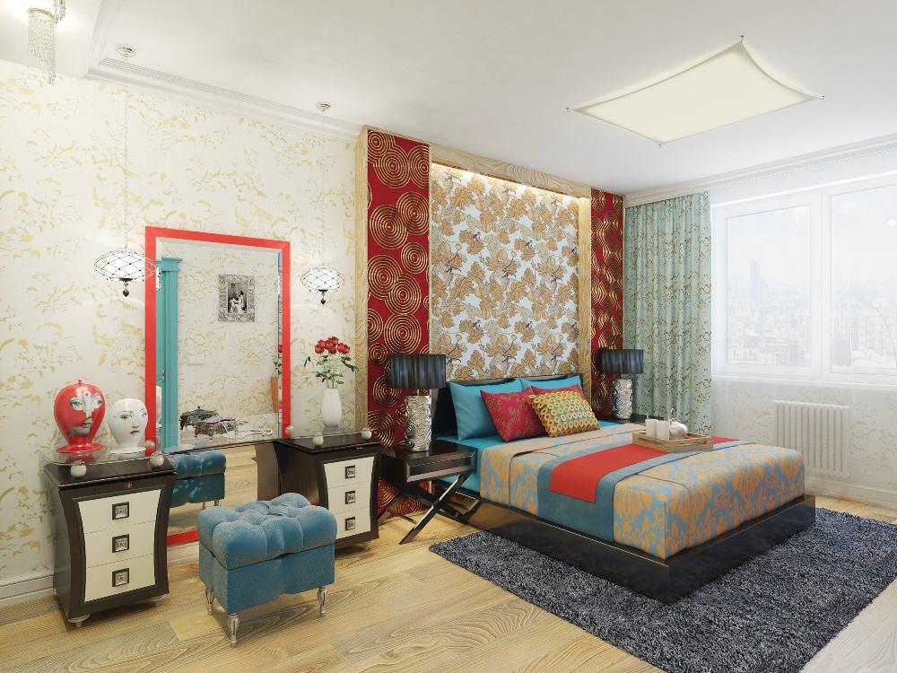 Мебель и предметы интерьера в цветах: серый, светло-серый, коричневый. Мебель и предметы интерьера в стилях: ближневосточные стили, эклектика.