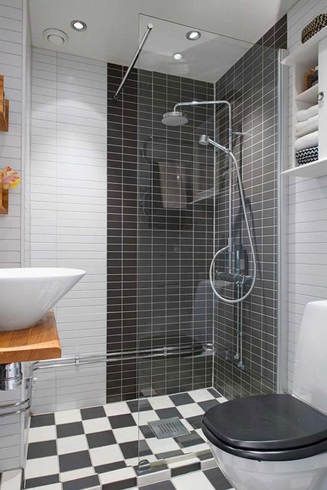 Дизайн душа и туалета