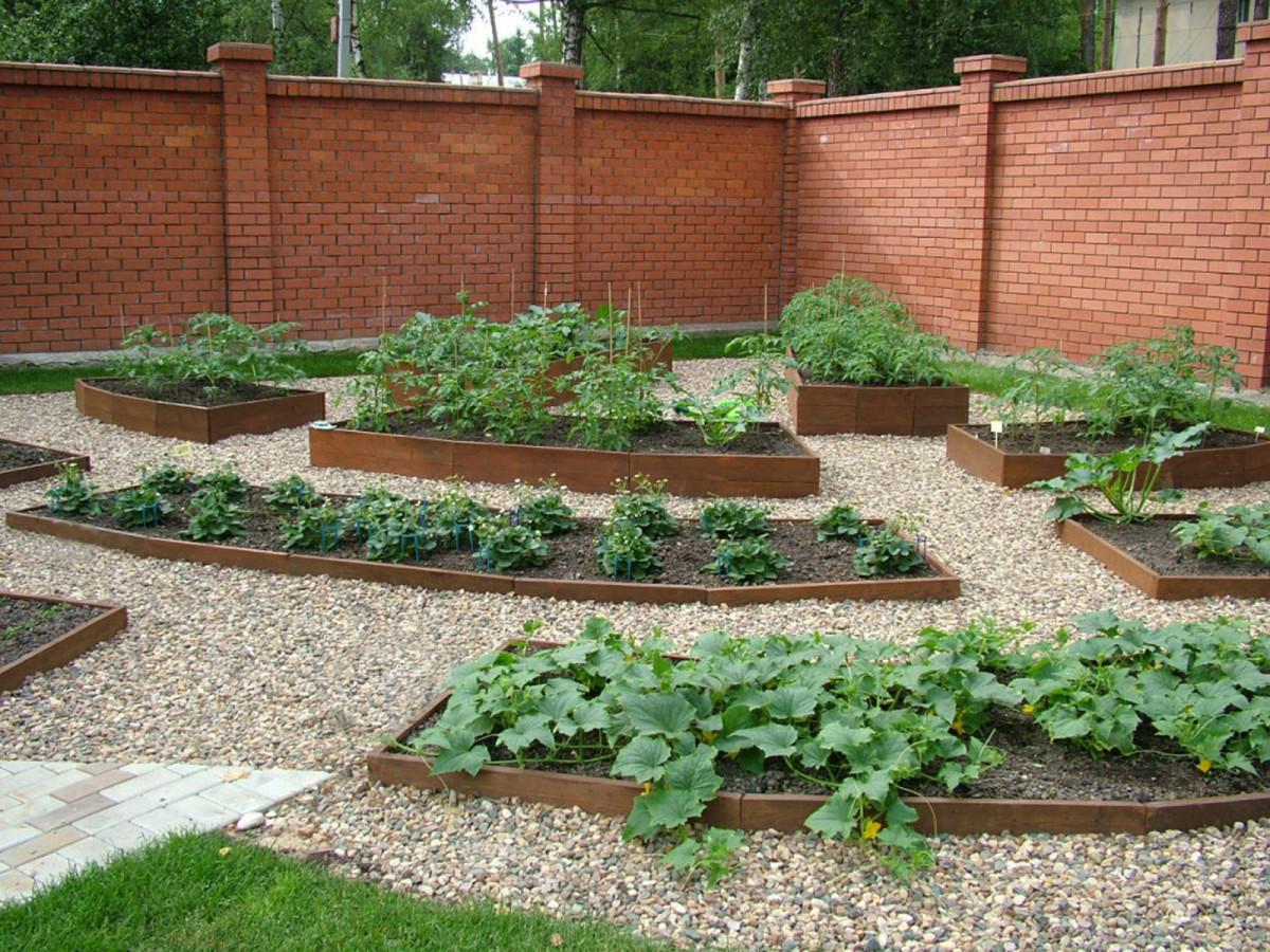 Как сделать в огороде дорожку