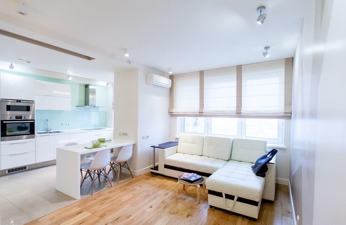 4-комнатная квартира в скандинавском стиле, 90 квм