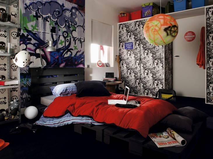 Интерьер комнаты для мальчика подростка своими руками