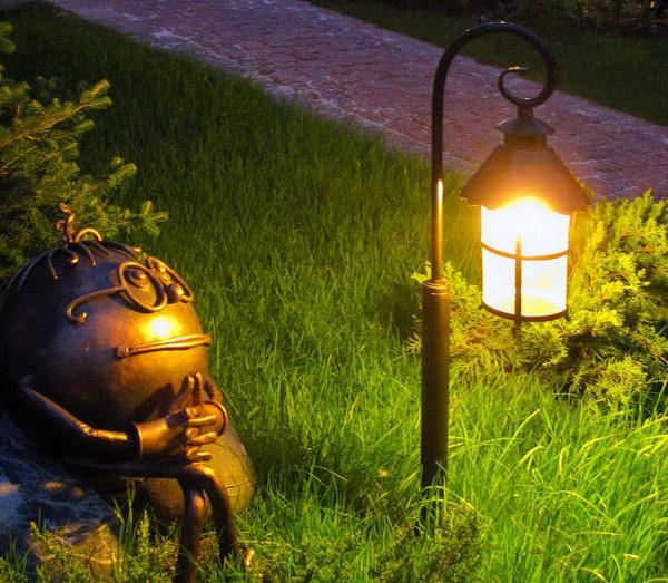 Декоративное освещение для дачи