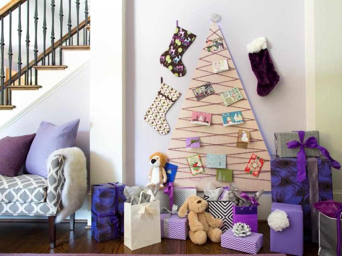 Декорации для комнаты к новому году