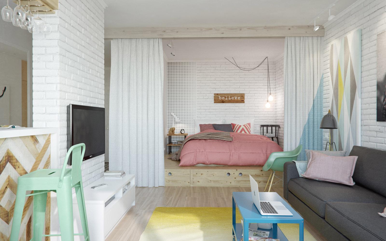 Дизайн комнаты 3 6 м
