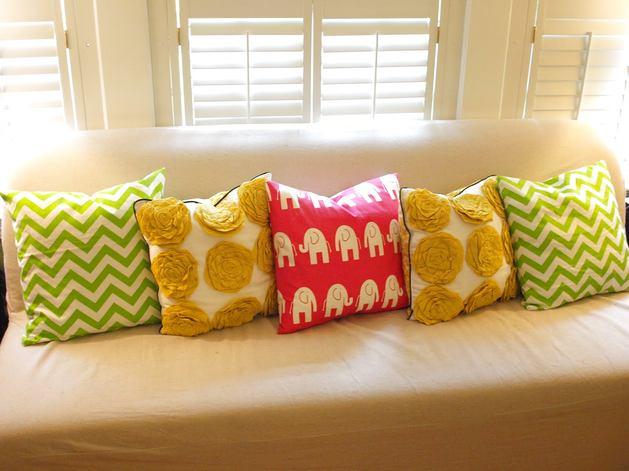 Мебель и предметы интерьера в цветах: желтый, светло-серый, салатовый, бежевый. Мебель и предметы интерьера в стилях: скандинавский стиль.