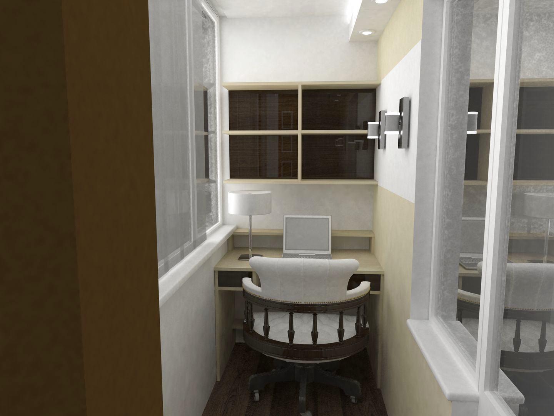 Дизайн балкона 6 кв м