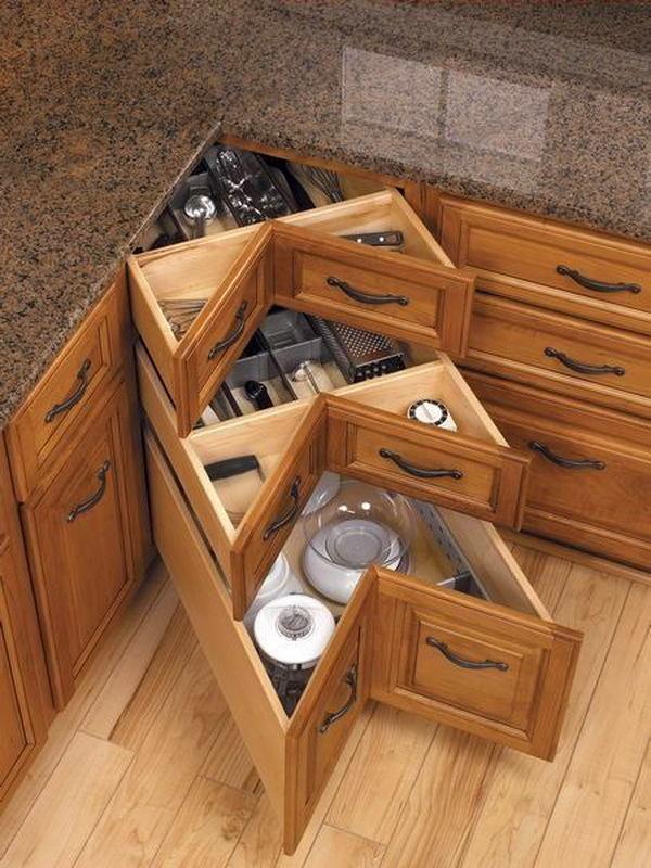 Кухня в цветах: коричневый, бежевый. Кухня в .