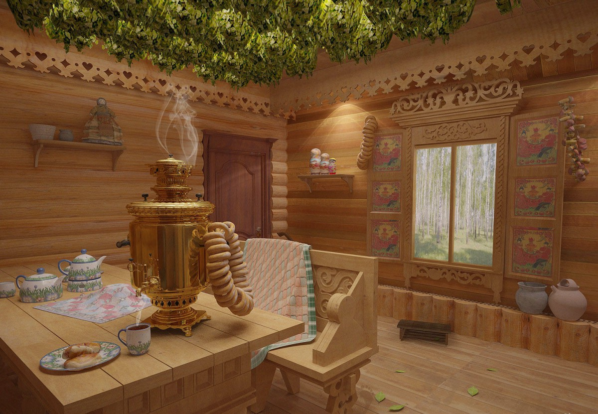 Русская баня дизайн