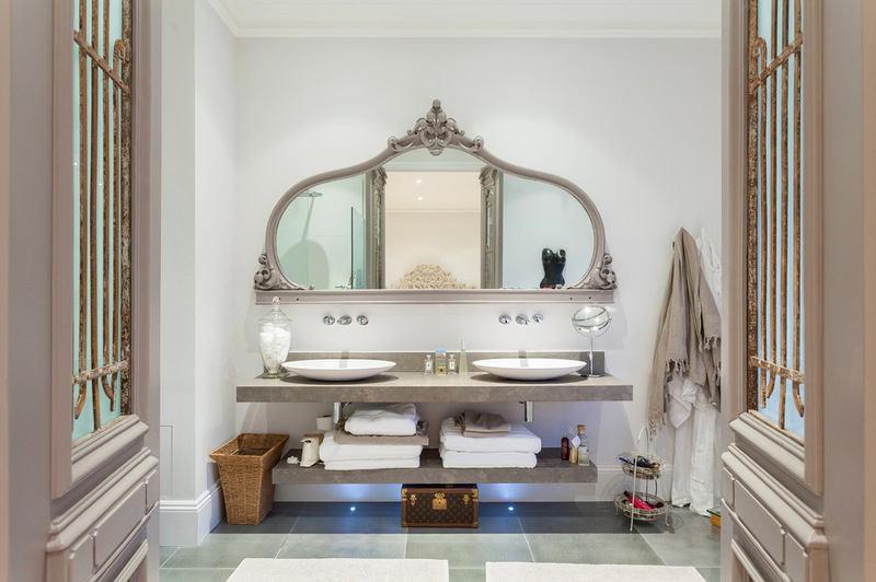 Мебель и предметы интерьера в цветах: серый, светло-серый, белый, коричневый, бежевый. Мебель и предметы интерьера в стиле ближневосточные стили.