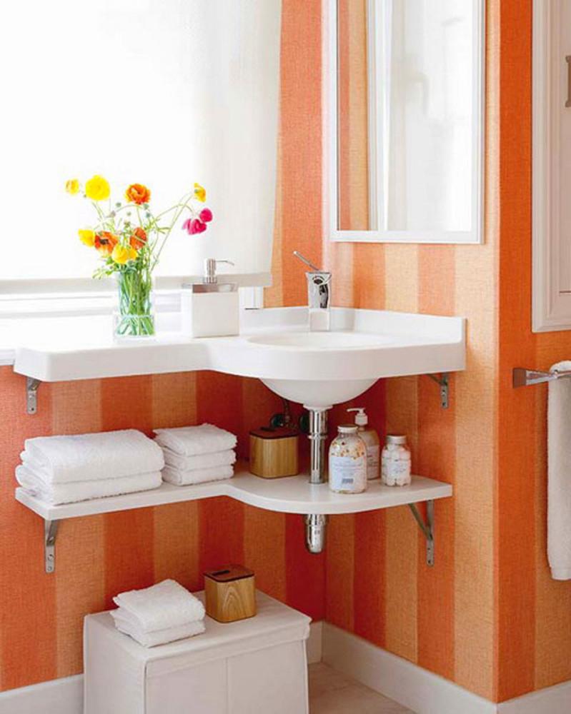 Идеи для маленькой ванной комнаты фото своими руками