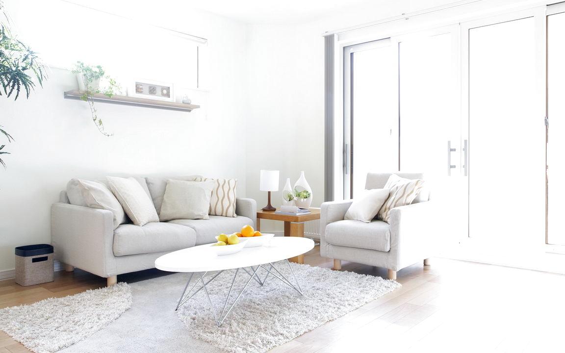 Фото дизайн квартиры в белом цвете