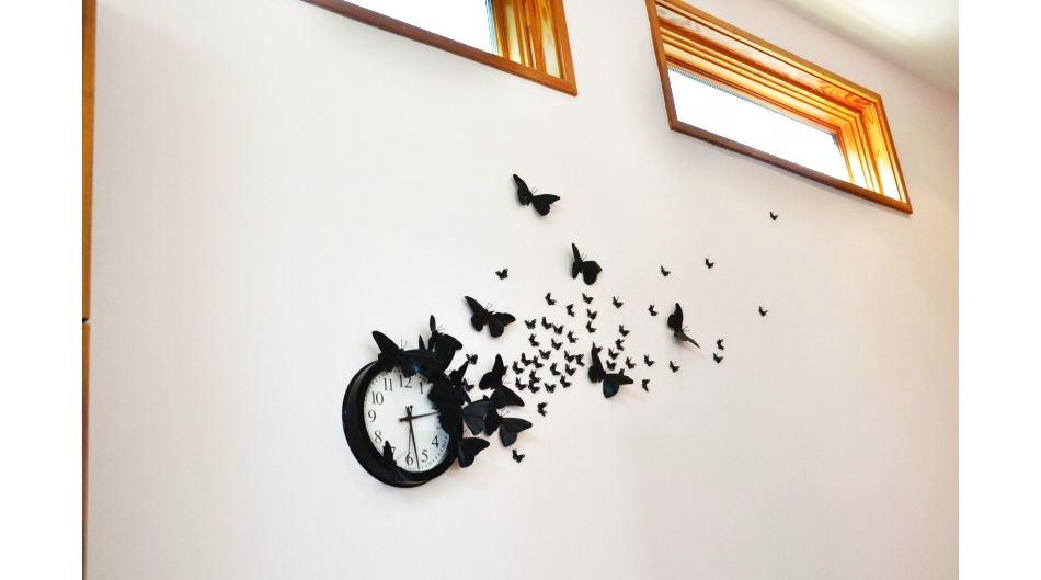 Декор бабочек на стену своими руками