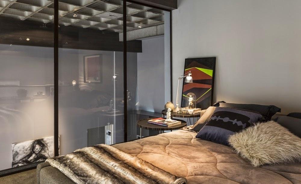 Мебель и предметы интерьера в цветах: желтый, черный, серый, светло-серый, бежевый. Мебель и предметы интерьера в стиле лофт.