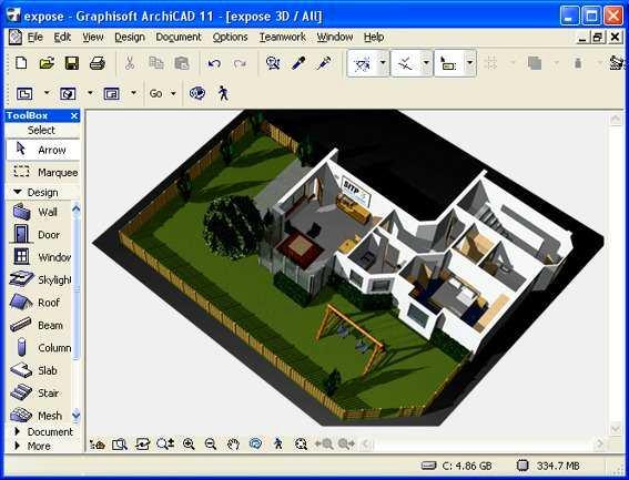 Как создать дизайн в архикаде