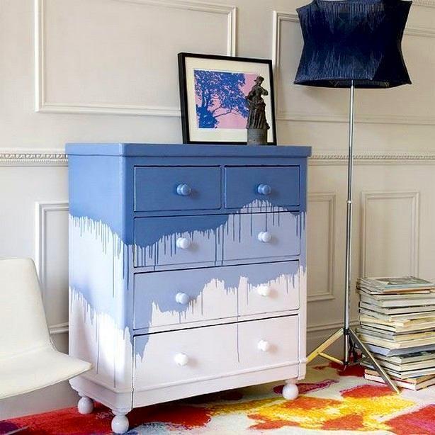 Как покрасить шкаф из дсп в белый цвет
