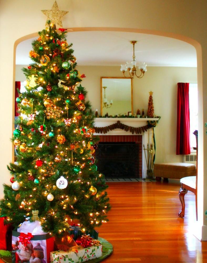 картинки самые красивые елки на новый год шоколад