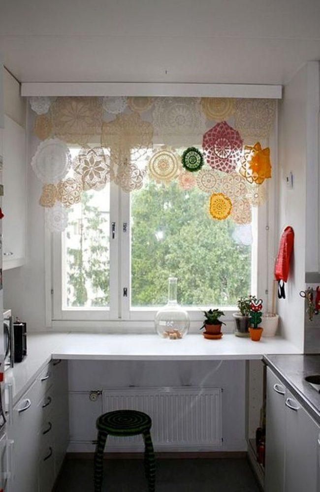 Тюли на кухню оригинальные идеи