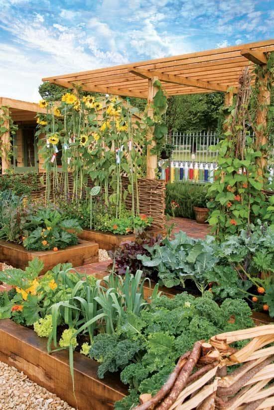 Уютная дача огород своими руками