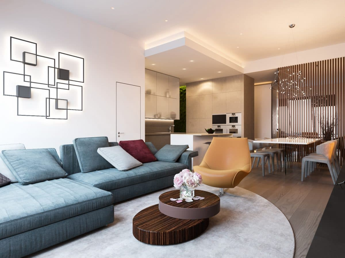 Большие квартиры дизайн