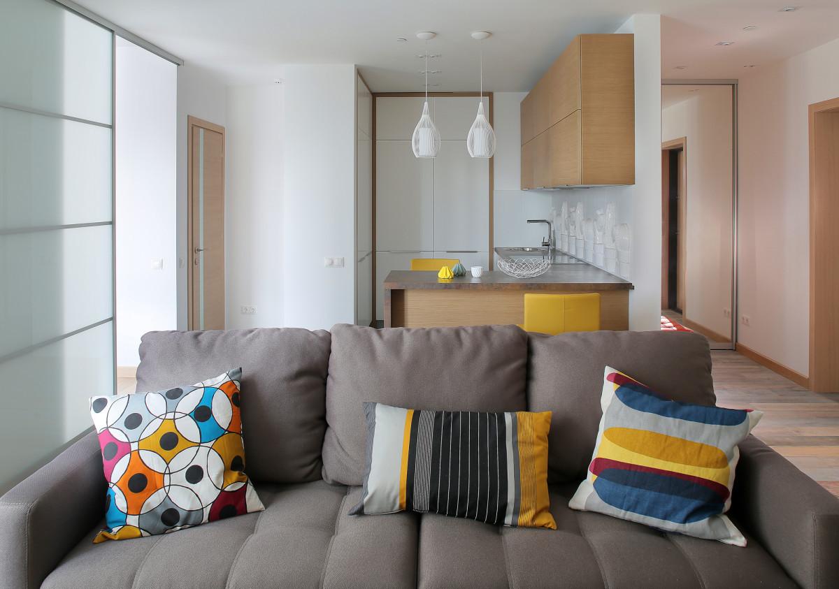 Однокомнатные квартиры дизайн интерьера 42 кв