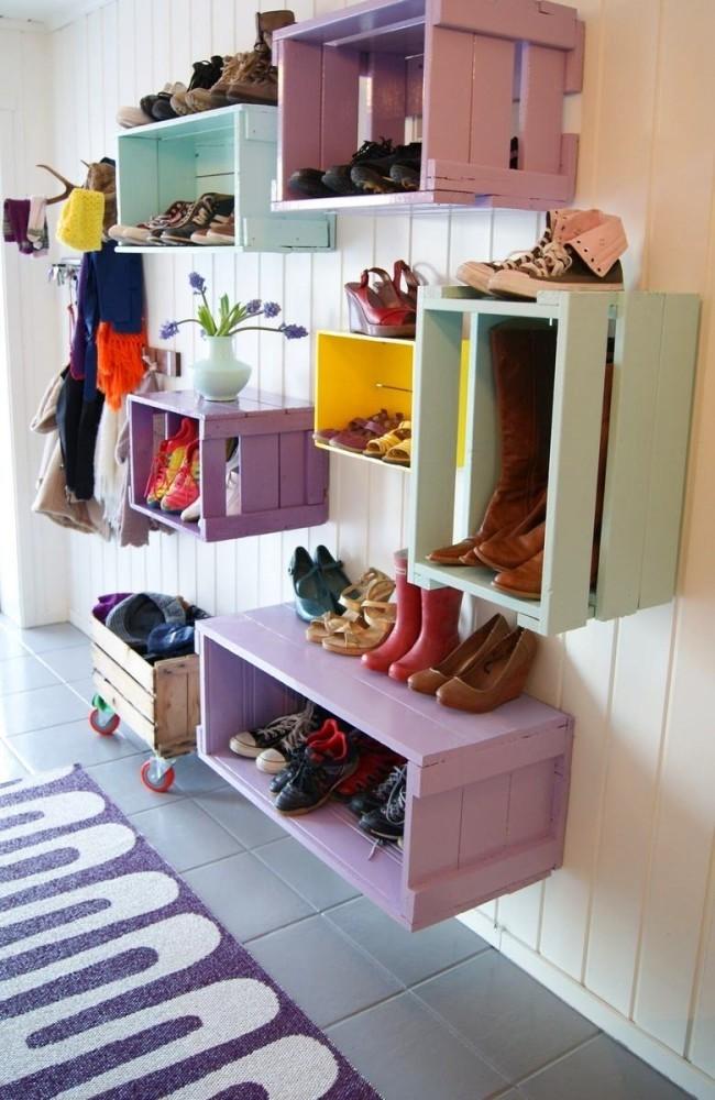 Шкафы для обуви своими руками фото 511